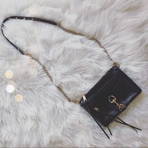 Rebecca Minkoff Black MAC Mini Crossbody purse